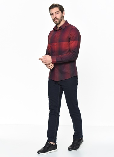 Calvin Klein Gömlek Bordo